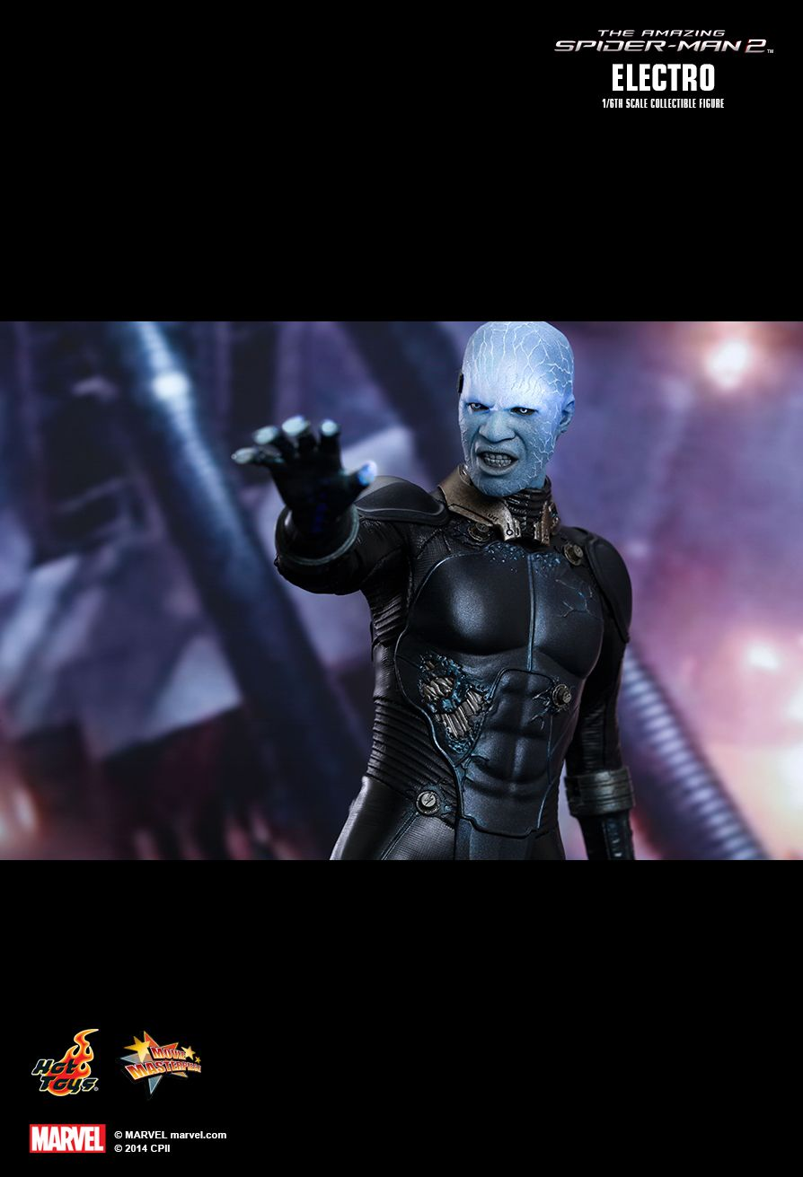 Hot Toys The Amazing Spider Man 2 Electro 1 6th Scale