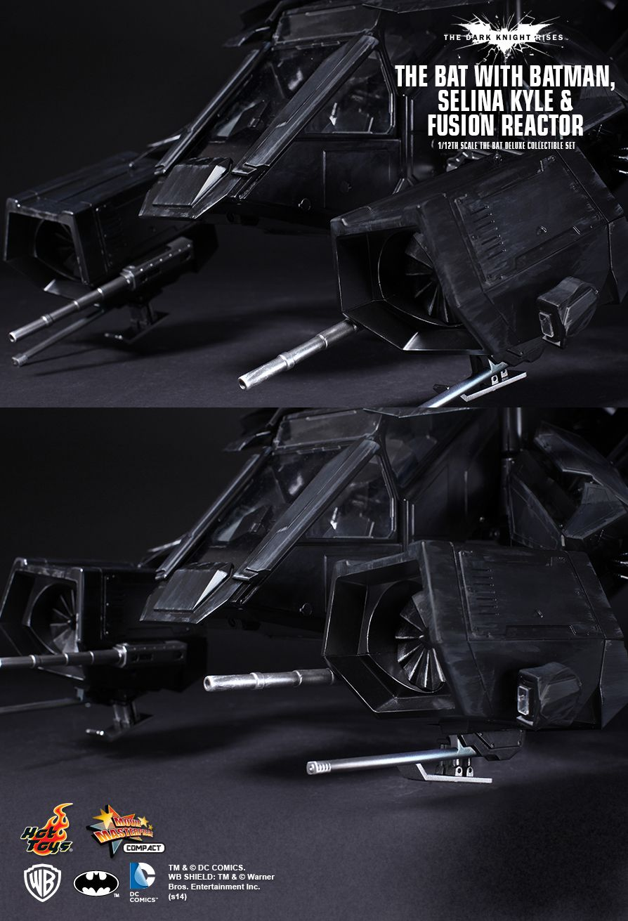 Hot Toys The Dark Knight Rises The Bat 1 12th Scale