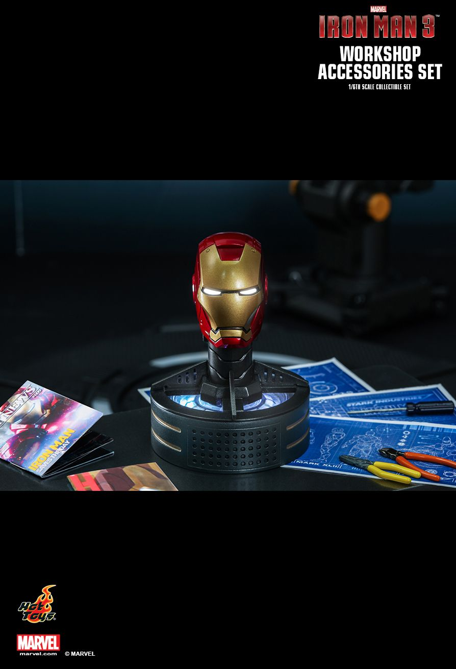 Hot Toys Iron Man 3 Workshop Accessories 1 6th Scale