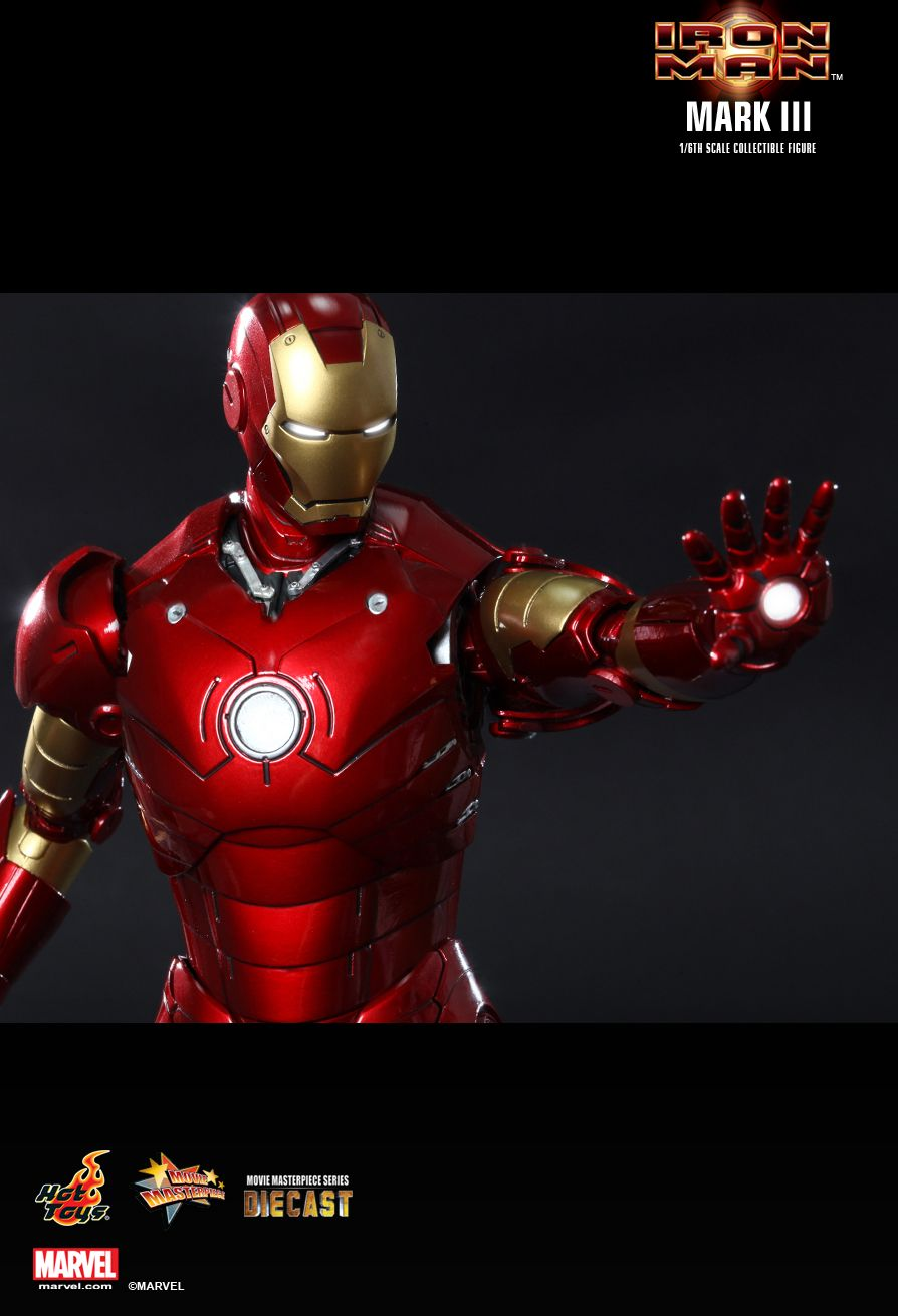 hot toys iron man mark iii 16th scale collectible figure