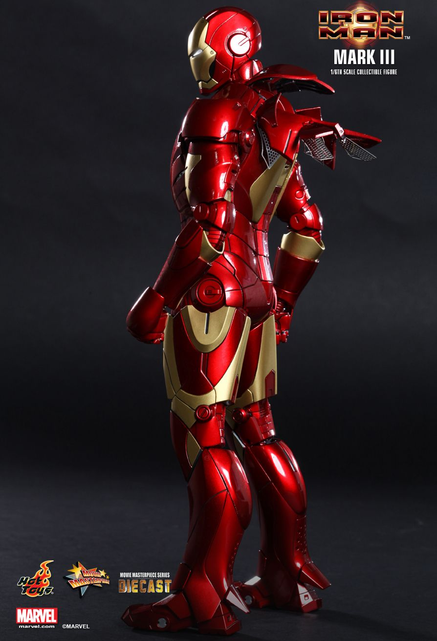 Hot Toys Iron Man Mark Iii 1 6th Scale Collectible Figure