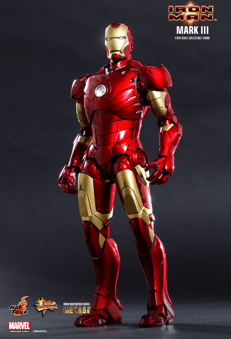 hottoys吧_Hot Toys : Iron Man - Mark III 1/6th scale Collectible Figure