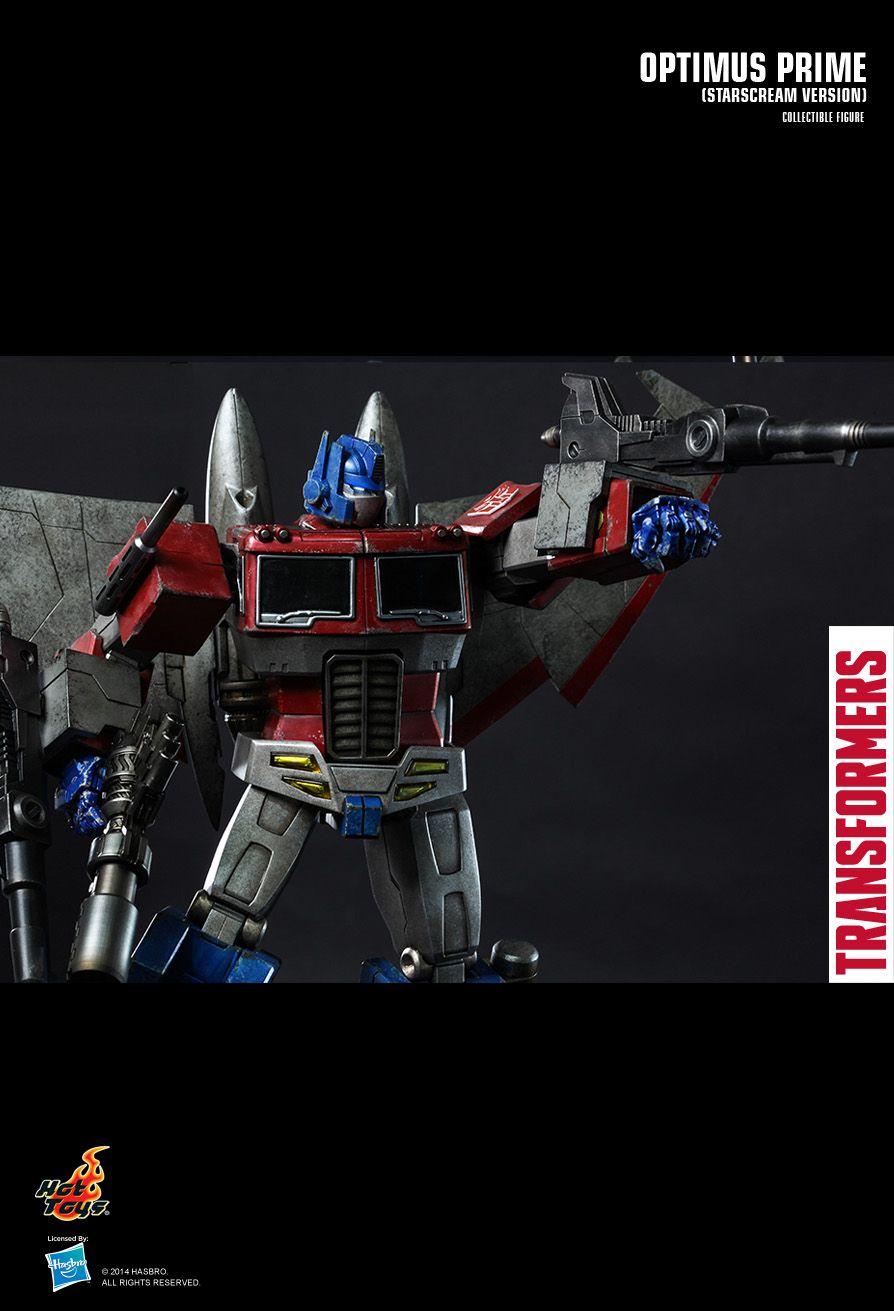 Optimus Prime Transformers Starscream Ver 1//6th Scale Hot Toys Action Figure