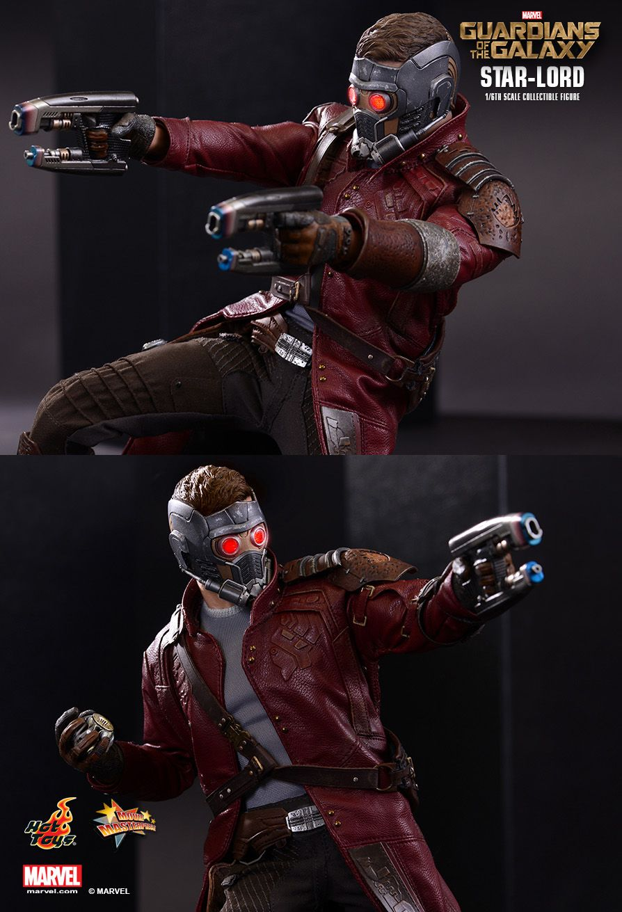 Hot Toys Guardians Of The Galaxy Star Lord 1 6th Scale