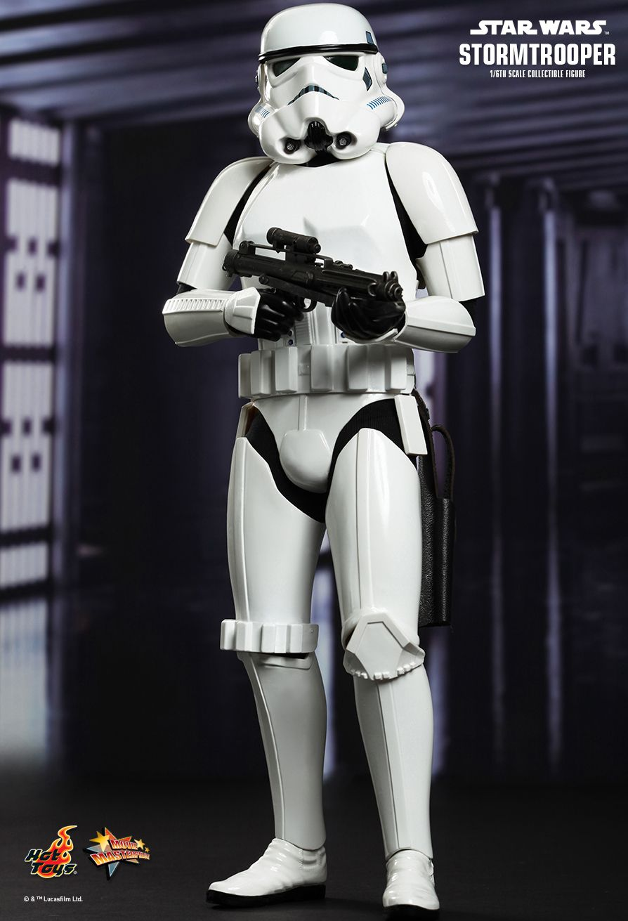 Hot Toys Star Wars Episode Iv A New Hope Stormtrooper 1 6th Scale Collectible Figure