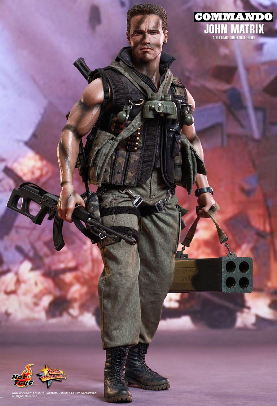 Hot Toys Mms276 Commando John Matrix Arnold
