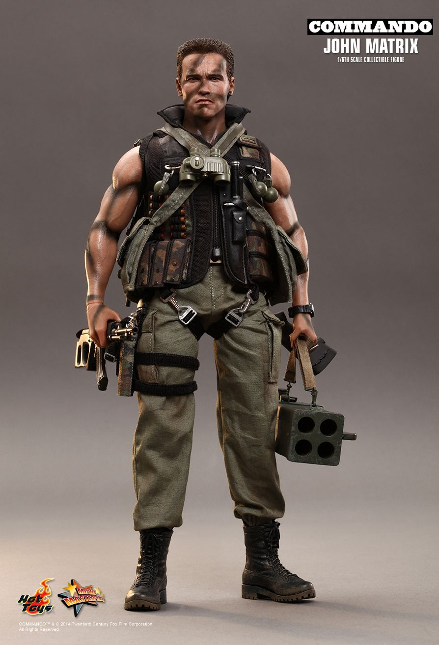 Commando John Matrix  Figurines cine