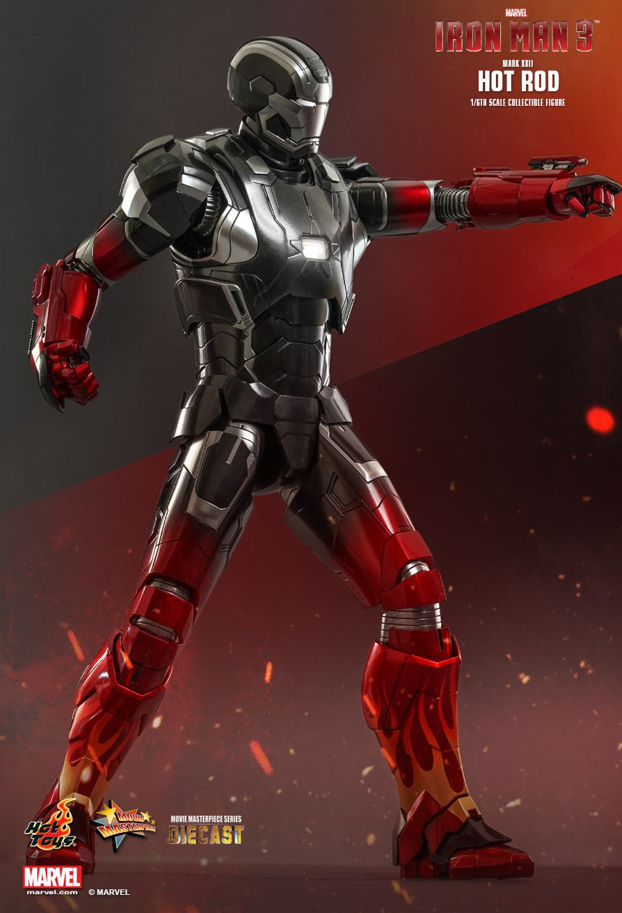 Hot Toys : Iron Man 3 - Hot Rod (Mark XXII) 1/6th scale ...