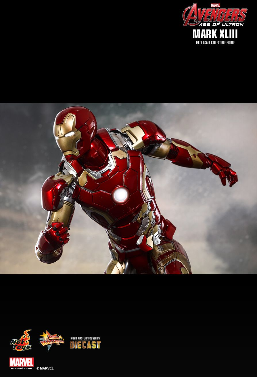 Hot Toys : Avengers: Age of Ultron - Mark XLIII 1/6th scale Collectible Figure