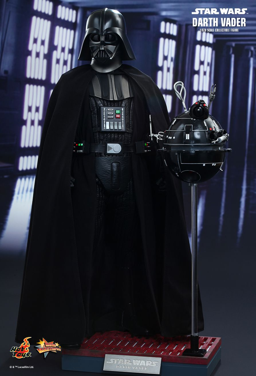 hot toys star wars episode iv a new hope darth vader 1 6th scale collectible figure. Black Bedroom Furniture Sets. Home Design Ideas