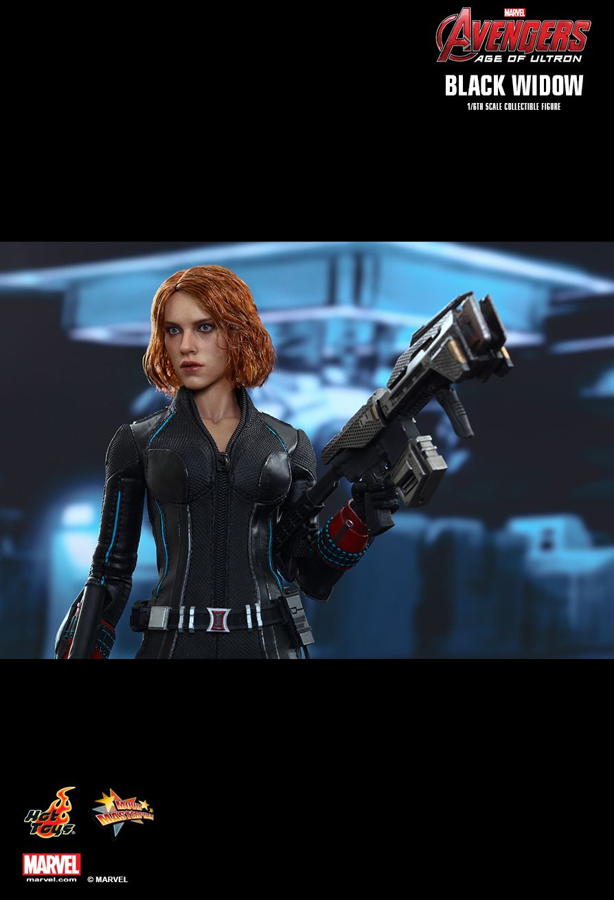 Hot Toys Avengers Age Of Ultron Black Widow 1 6th Scale Collectible Figure