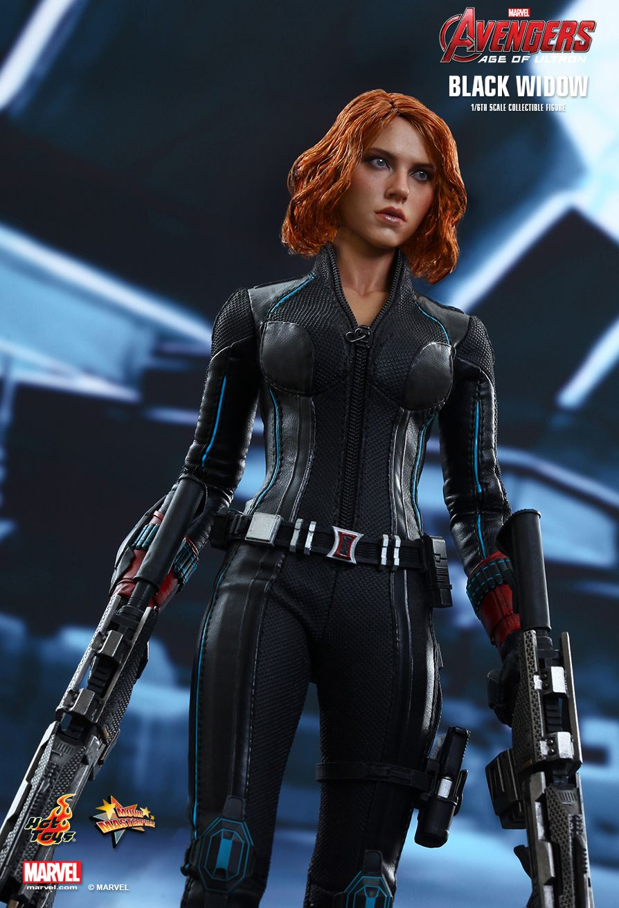 Hot Toys Avengers Age Of Ultron Black Widow 1 6th