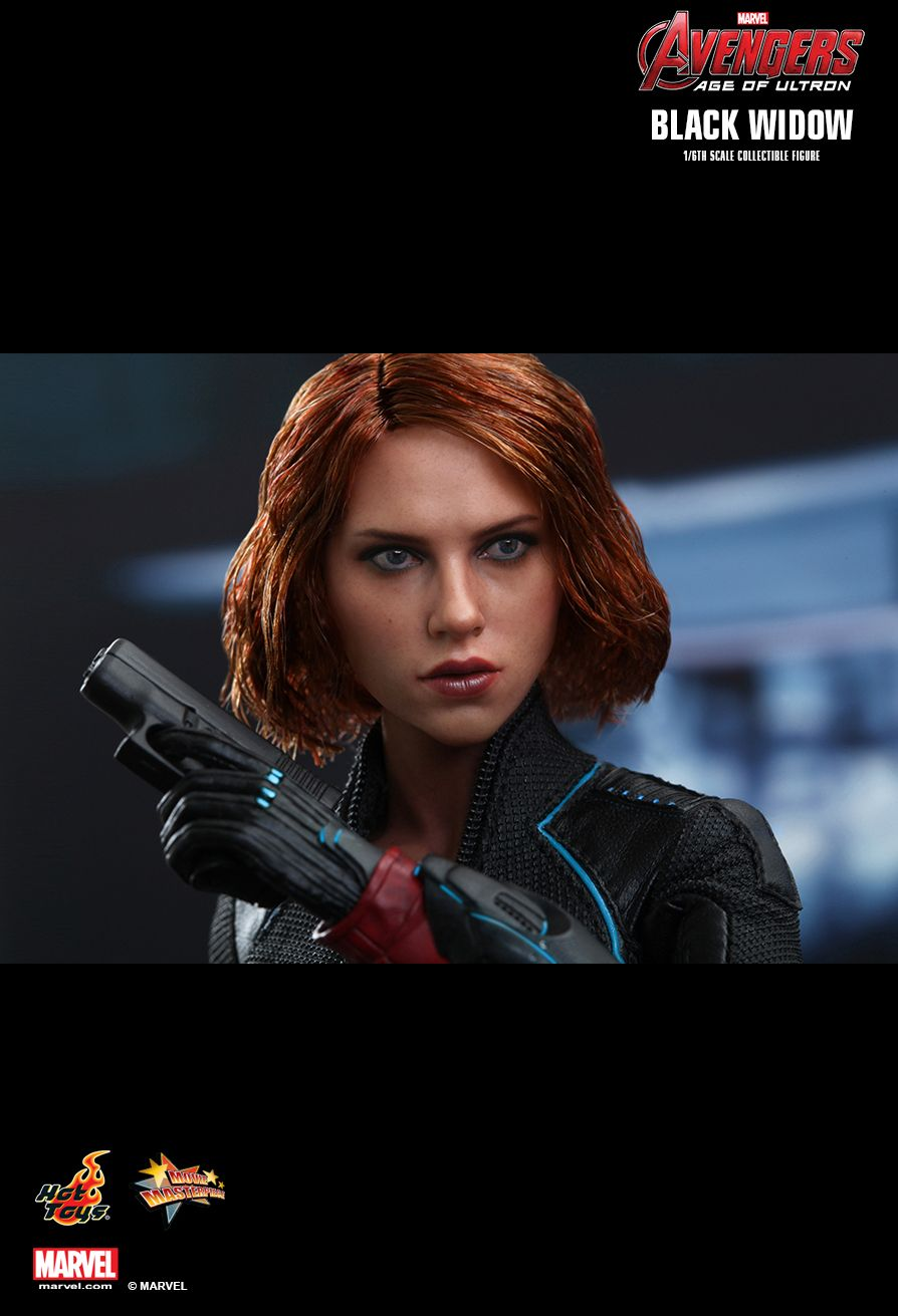 Age of Ultron Black Widow Blaster Rifle 1//6 scale Hot Toys Avengers