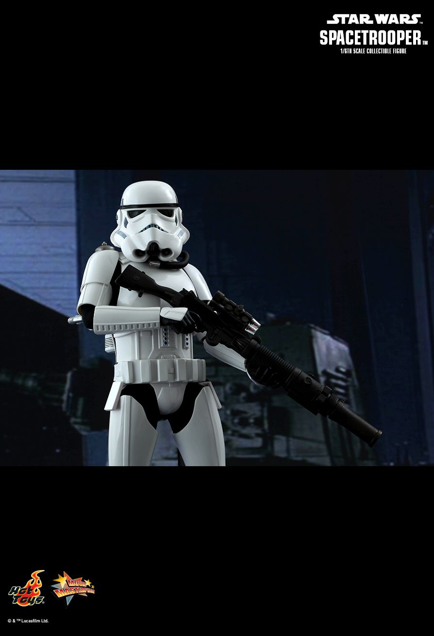 hot toys star wars episode iv a new hope spacetrooper th  hot toys star wars episode iv a new hope spacetrooper 1 6th scale collectible figure