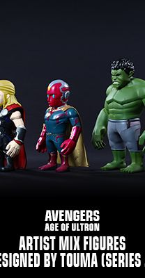 Hot Toys : Avengers: Age of Ultron - Artist Mix Figures