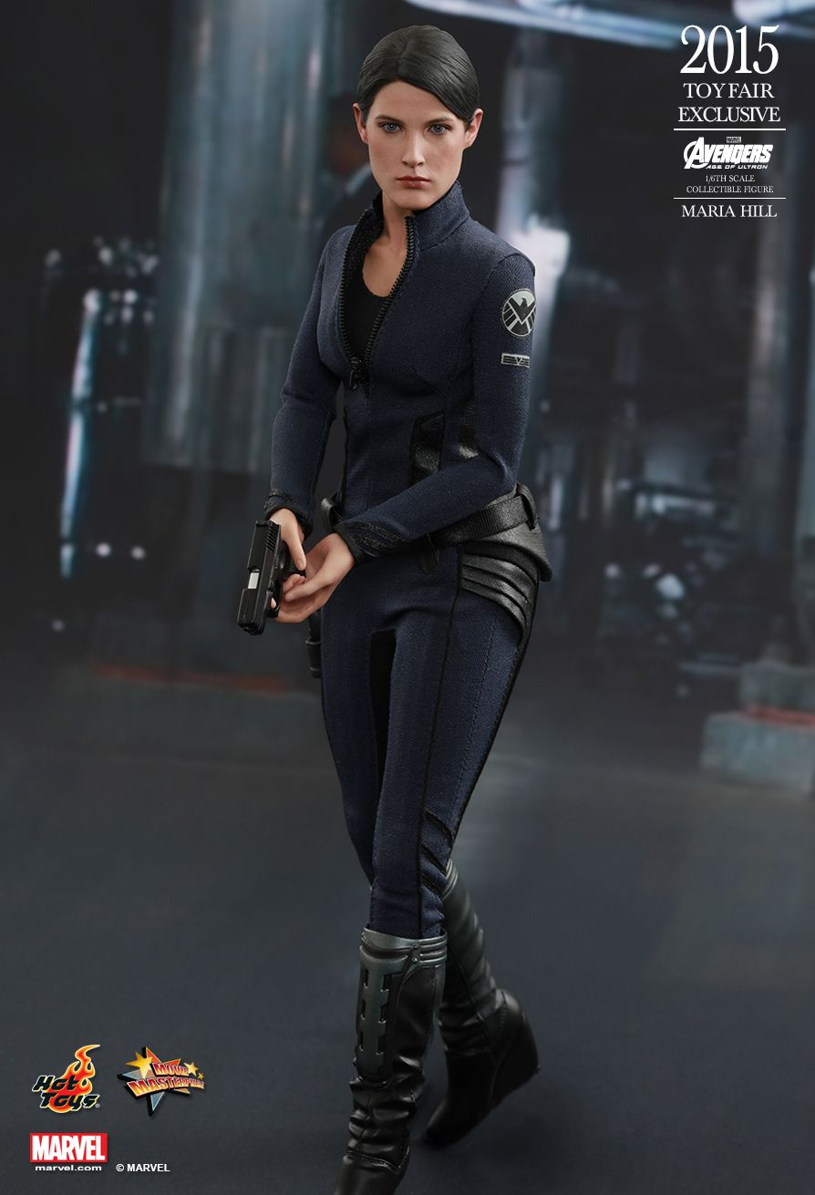 Hot Toys Avengers Age Of Ultron Maria Hill 1 6th Scale 6 Female Collectible Figure