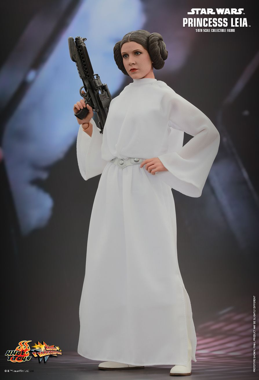 Hot Toys Star Wars Episode Iv A New Hope Princess Leia 1 6th Scale Collectible Figure