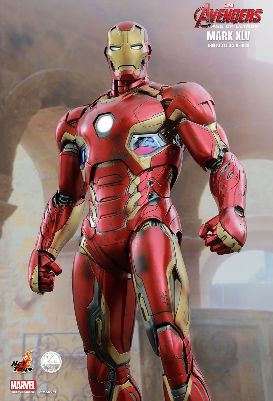 Hot Toys : Avengers: Age of Ultron - Mark XLV 1/4th scale ...