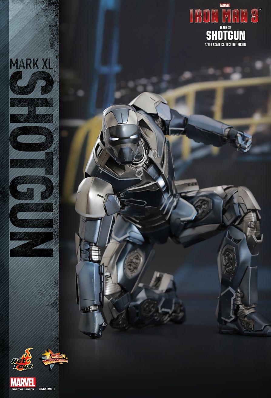 hot toys iron man 3 shotgun mark xl 16th scale