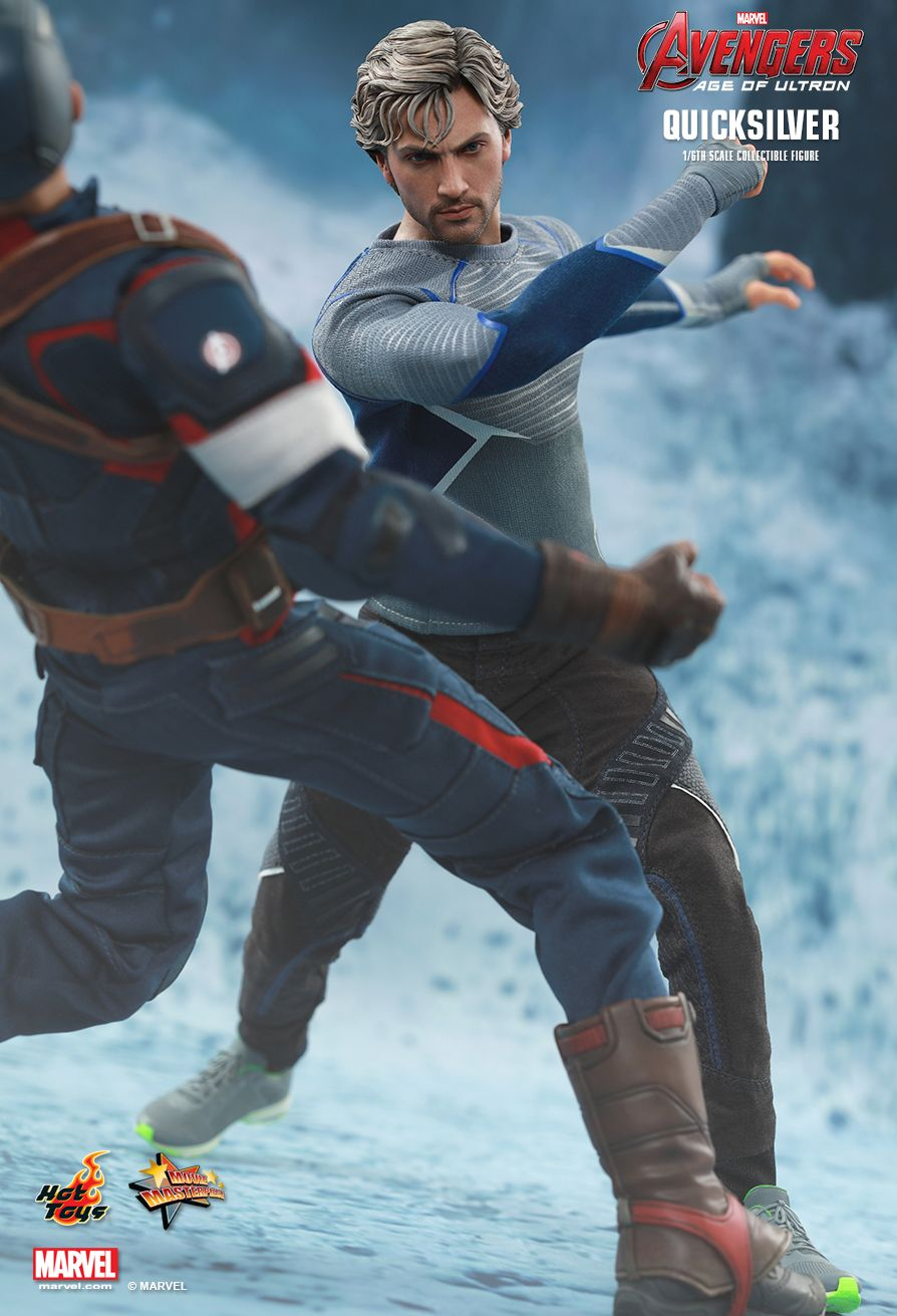 Hot Toys Avengers Age Of Ultron Quicksilver 1 6th