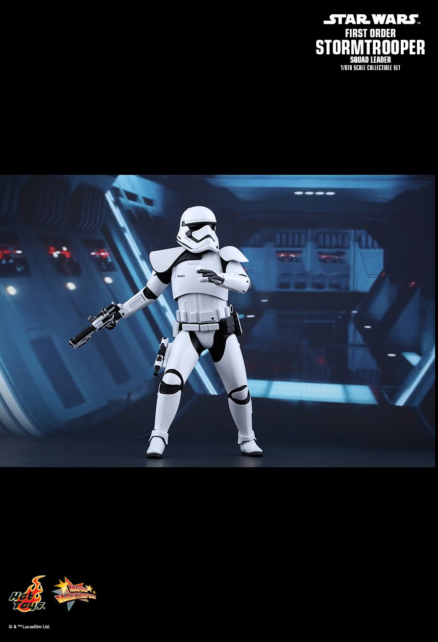 Exclusive NEW Hot Toys MMS 316 Star Wars First Order Stormtrooper Squad Leader
