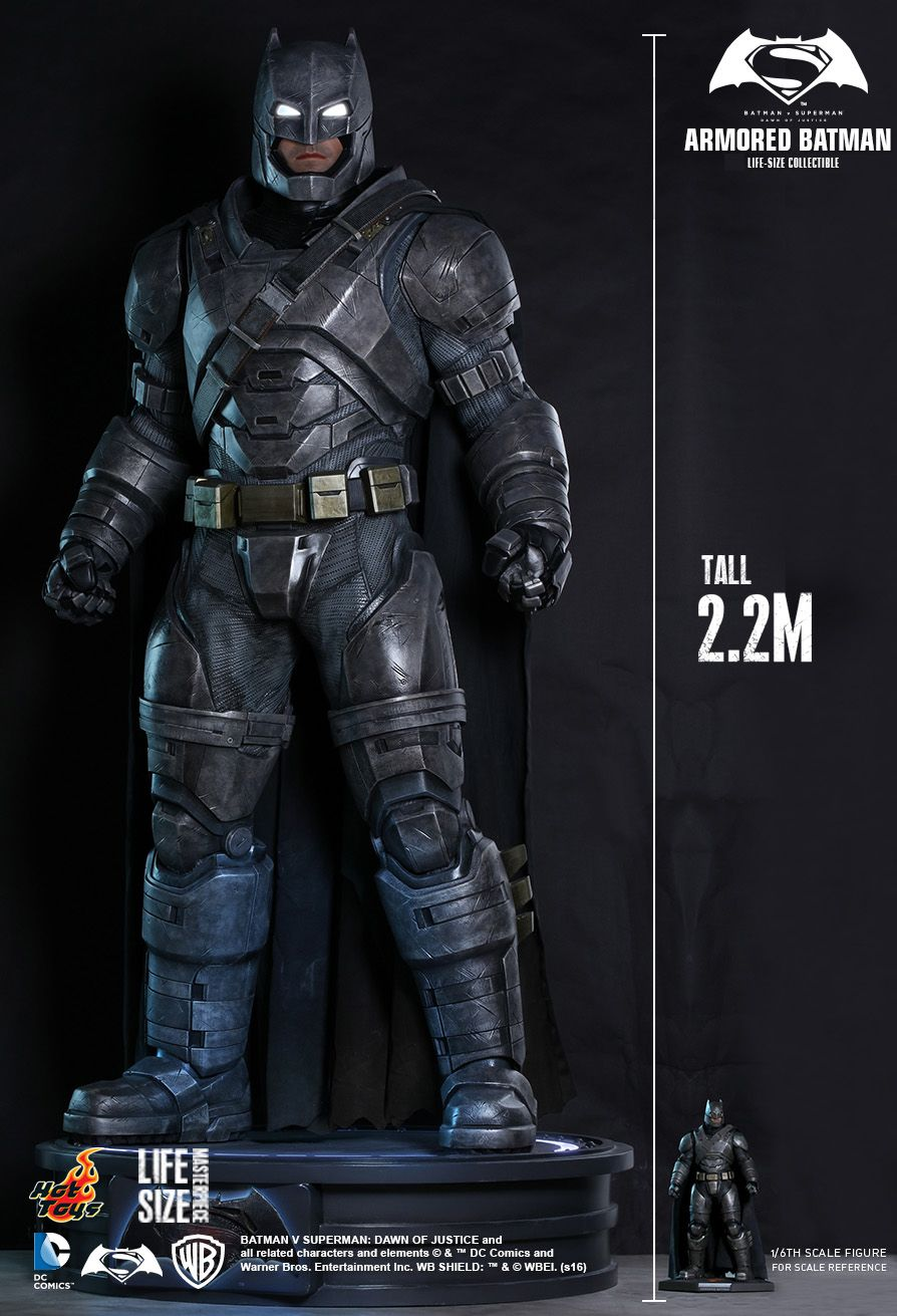 Sideshow Is Selling 7 Foot Ben Affleck Armored Batman