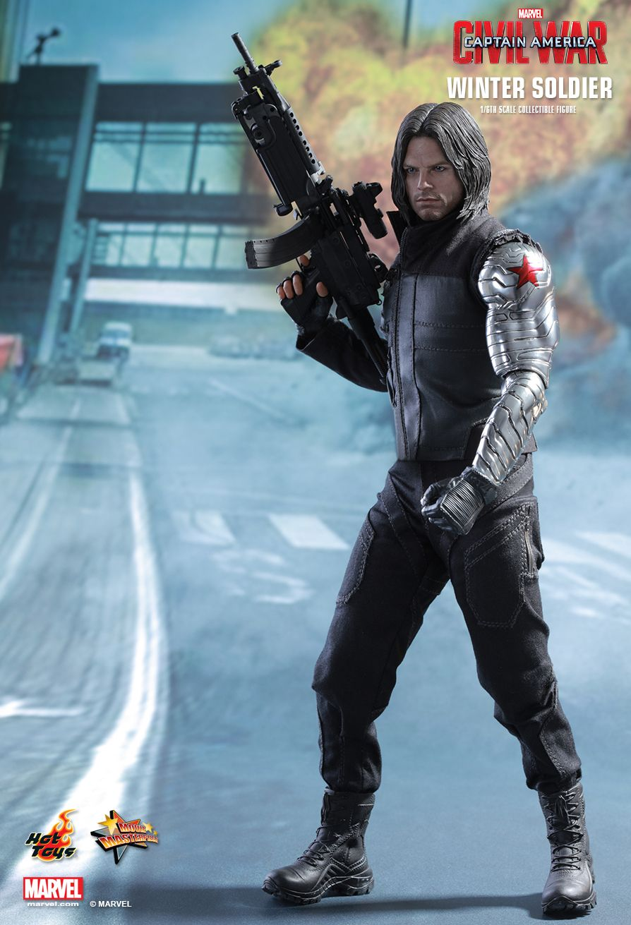 hottoys吧_Hot Toys : Captain America: Civil War - Winter Soldier 1/6th scale Collectible Figure