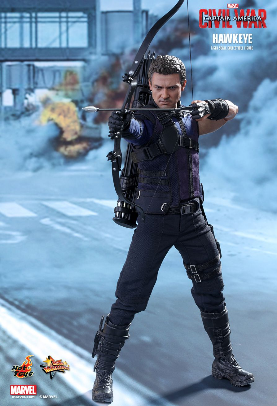 hottoys吧_Hot Toys : Captain America: Civil War - Hawkeye 1/6th scale Collectible Figure