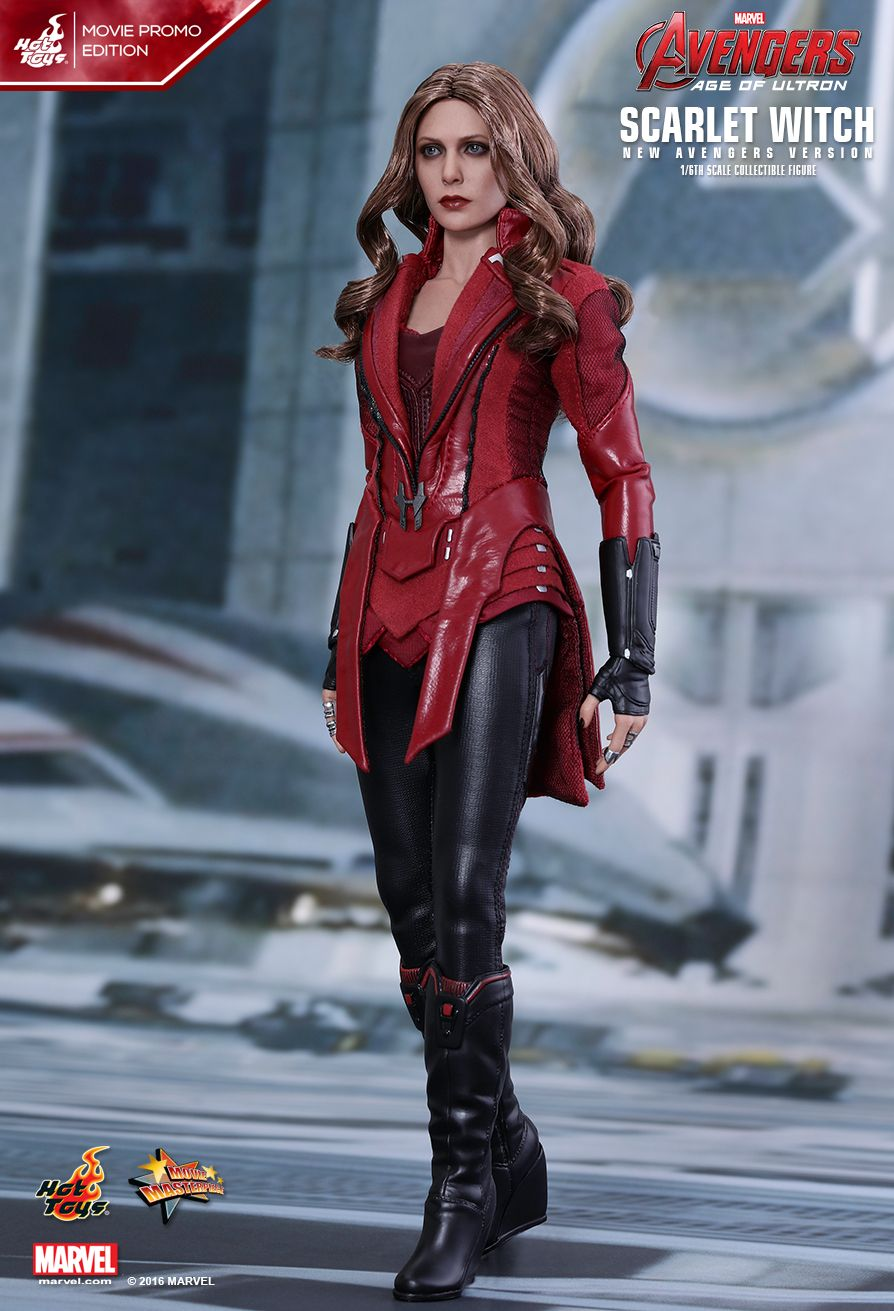 Hot Toys Avengers Age Of Ultron Scarlet Witch New