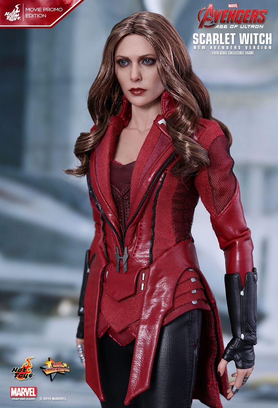 Hot Toys : Avengers: Age of Ultron - Scarlet Witch (New Avengers ...