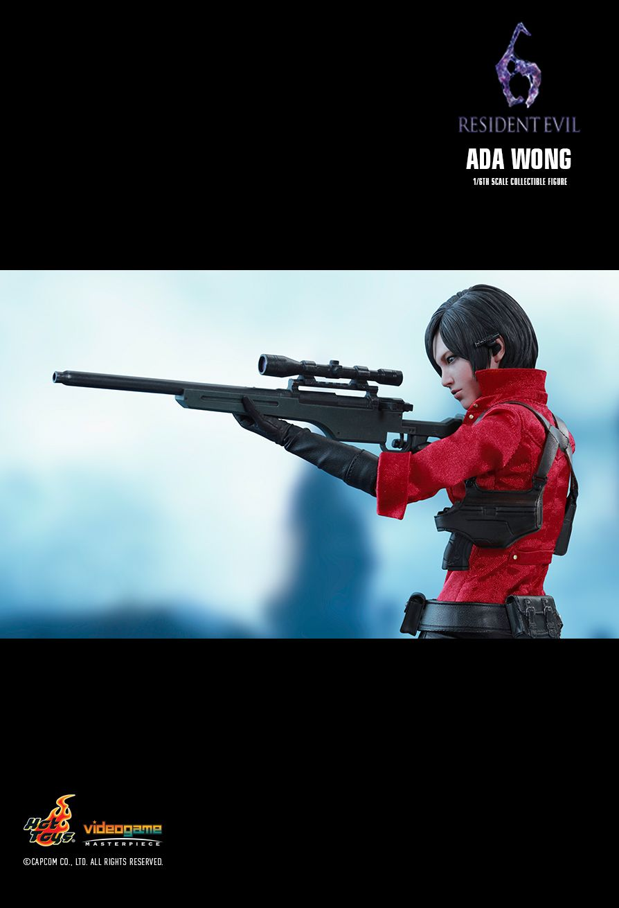 Hot Toys Resident Evil 6 Ada Wong 1 6th Scale