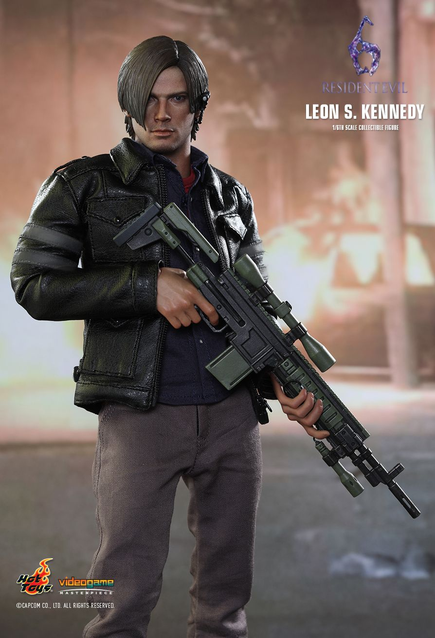 Hot Toys Resident Evil 6 Leon S Kennedy 16th Scale