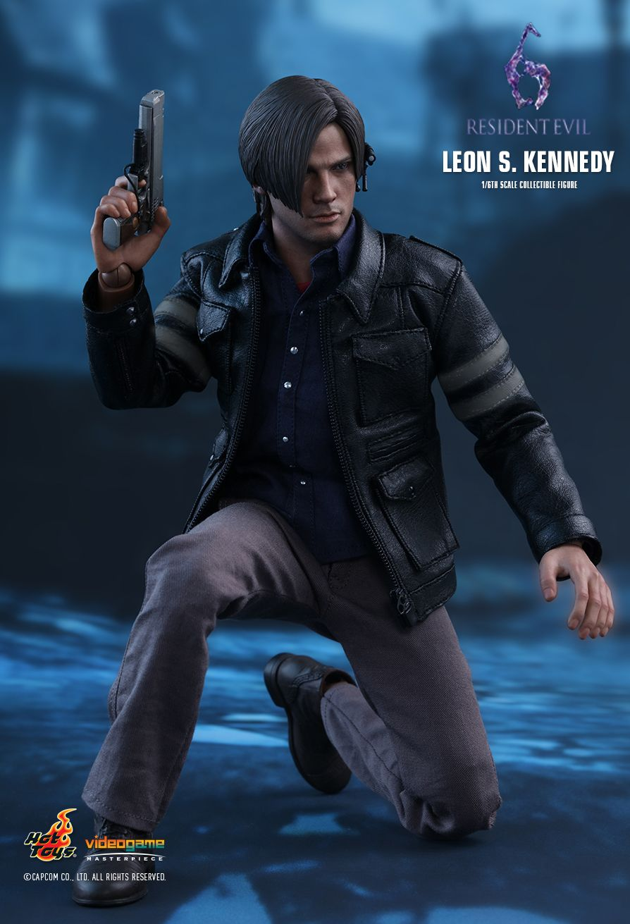 Hot Toys Resident Evil 6 Leon S Kennedy 1 6th Scale Collectible Figure