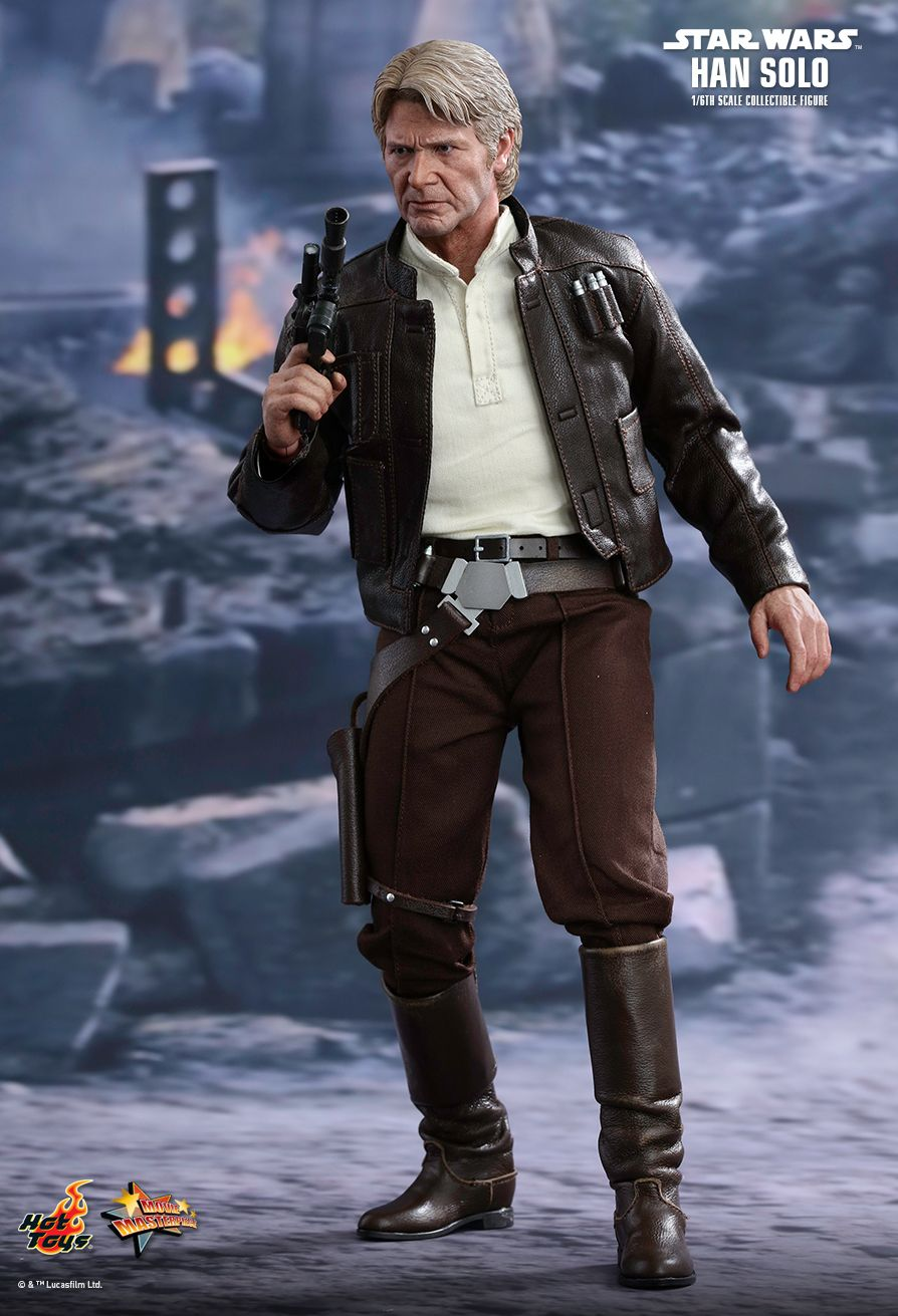 Hot Toys Star Wars The Force Awakens Han Solo 1 6th