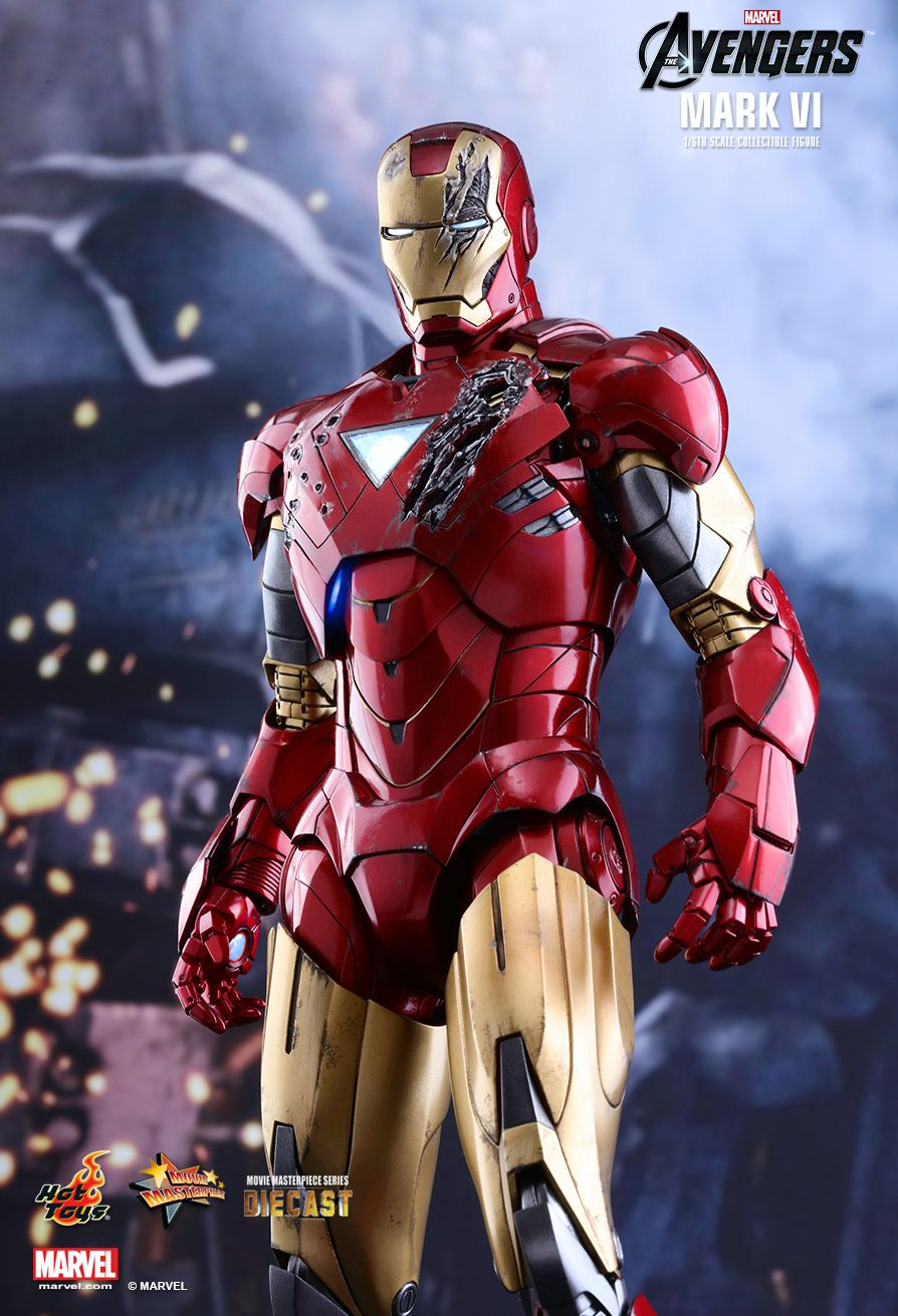 Hot Toys The Avengers Mark Vi 1 6th Scale Diecast