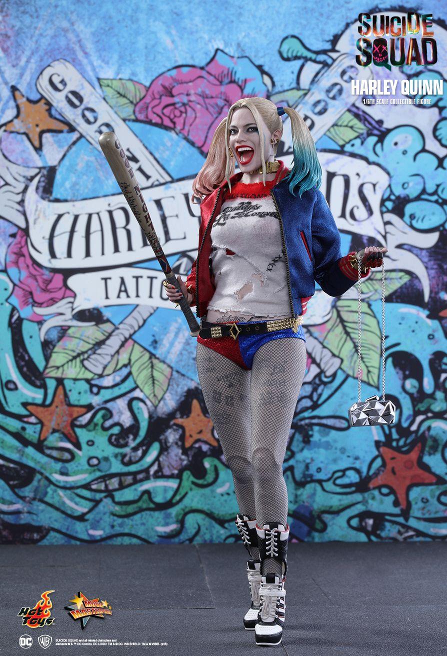 DC Harley Quinn Colorful Baseball  *NEW*