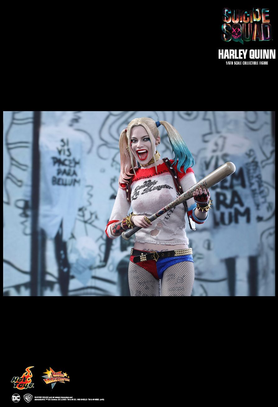 Hot Toys Suicide Squad Harley Quinn 1 6th Scale