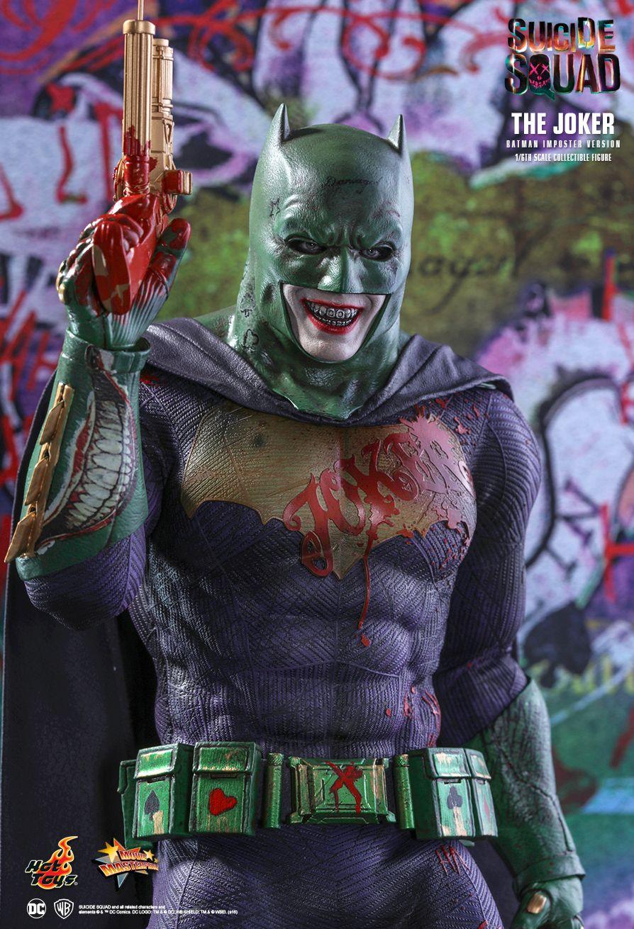 1 6 hot toys mms384 suicide squad joker batman imposter collectible figure. Black Bedroom Furniture Sets. Home Design Ideas