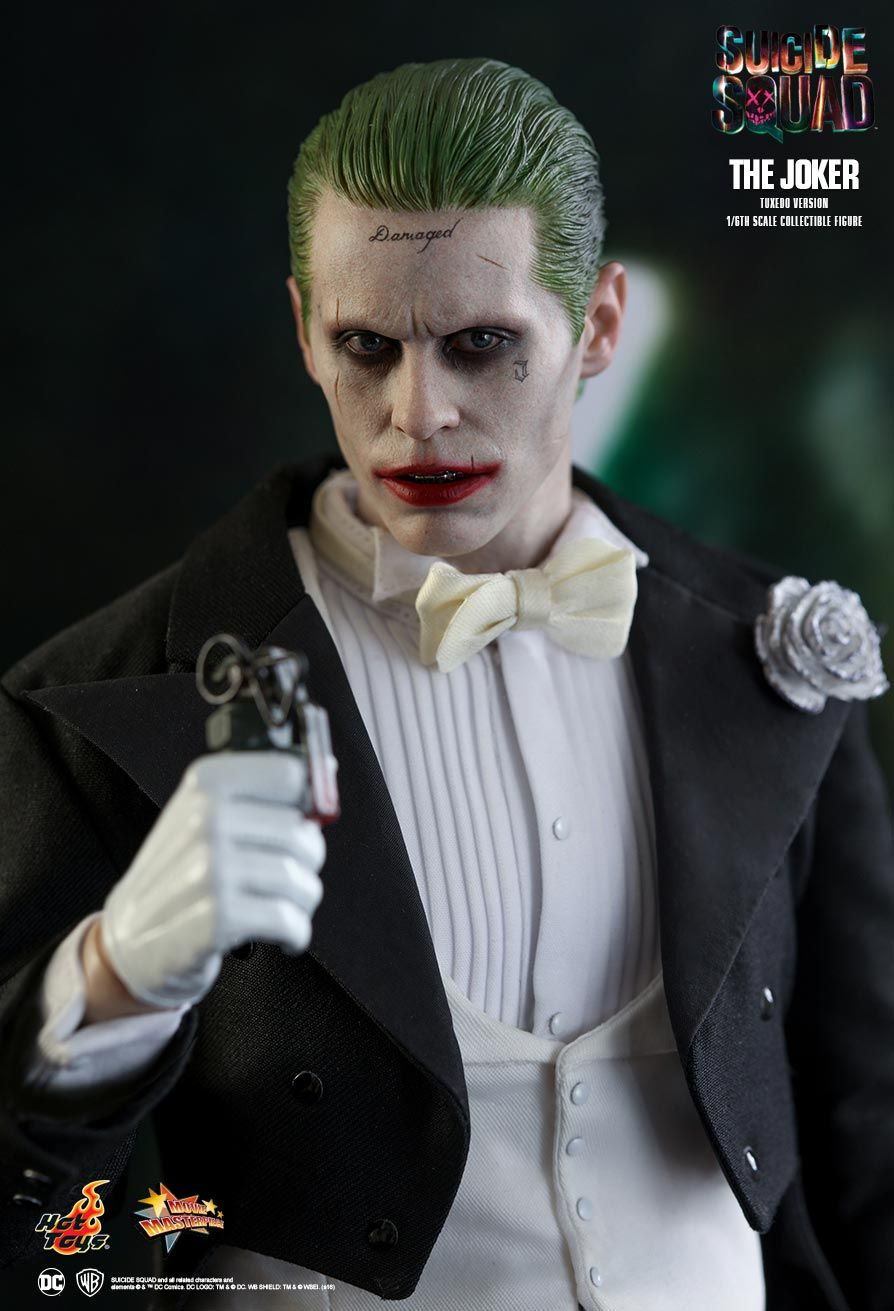 hot toys suicide squad the joker tuxedo version 1