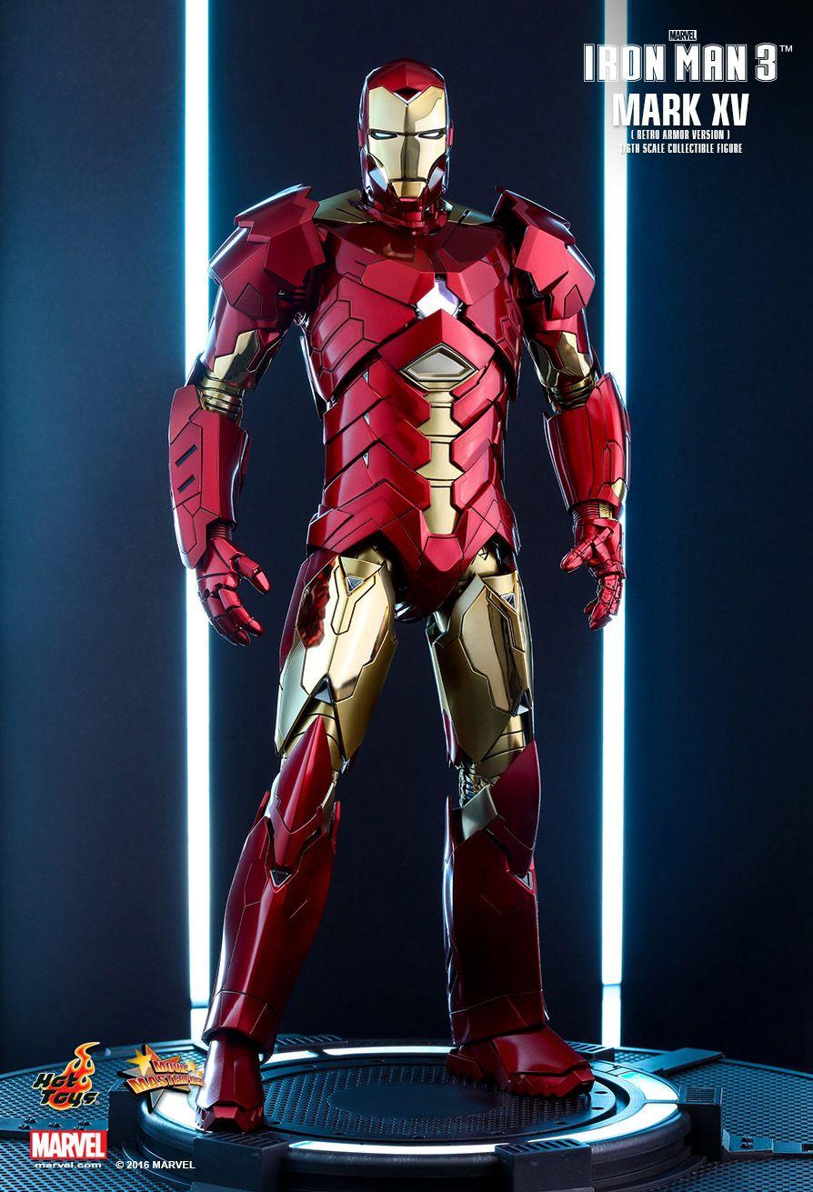 hottoys吧_Hot Toys : Iron Man 3 - Sneaky Mark XV (Retro Armor Version) 1/6th scale Collectible ...