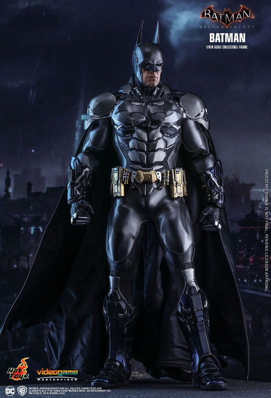 Hot toys batman arkham knight batman 16th scale collectible figure voltagebd Image collections