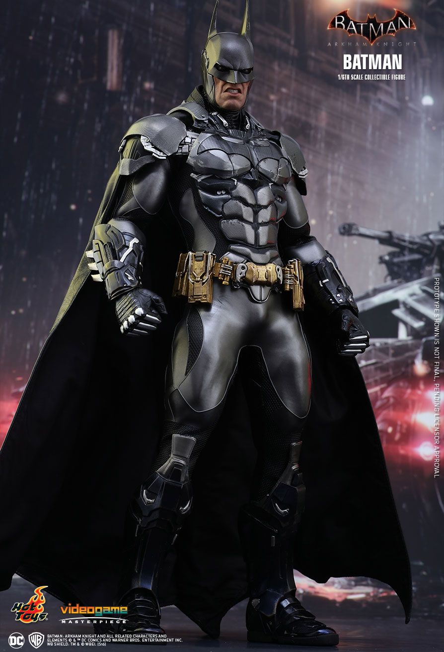 hot toys batman arkham knight batman 1 6th scale. Black Bedroom Furniture Sets. Home Design Ideas
