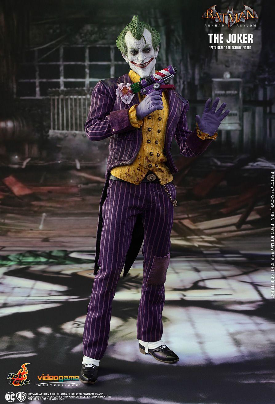 Hot Toys  Batman Arkham Asylum - The Joker 1/6th scale Collectible Figure & Hot Toys : Batman: Arkham Asylum - The Joker 1/6th scale Collectible ...