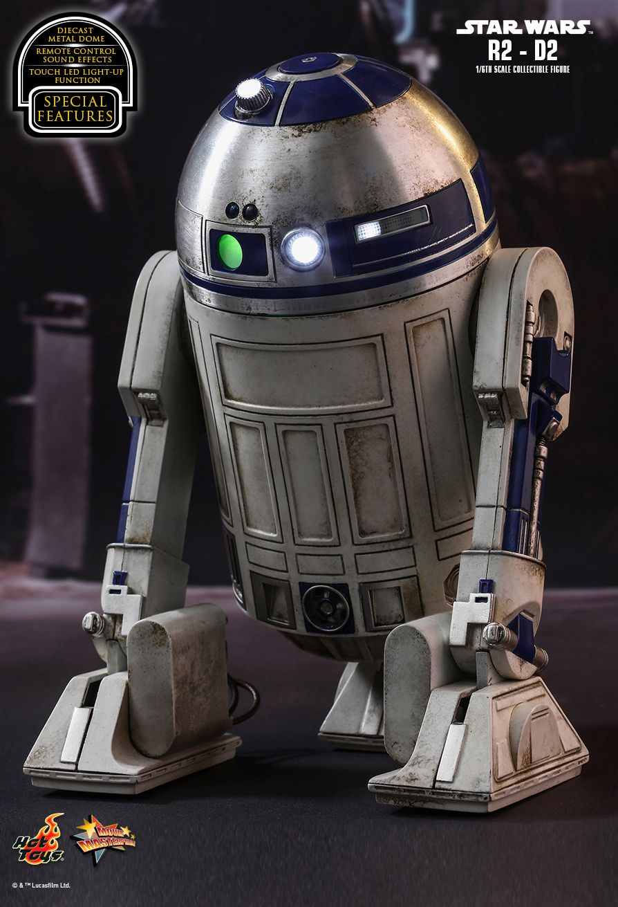 Hot Toys Star Wars The Force Awakens R2 D2 1 6th