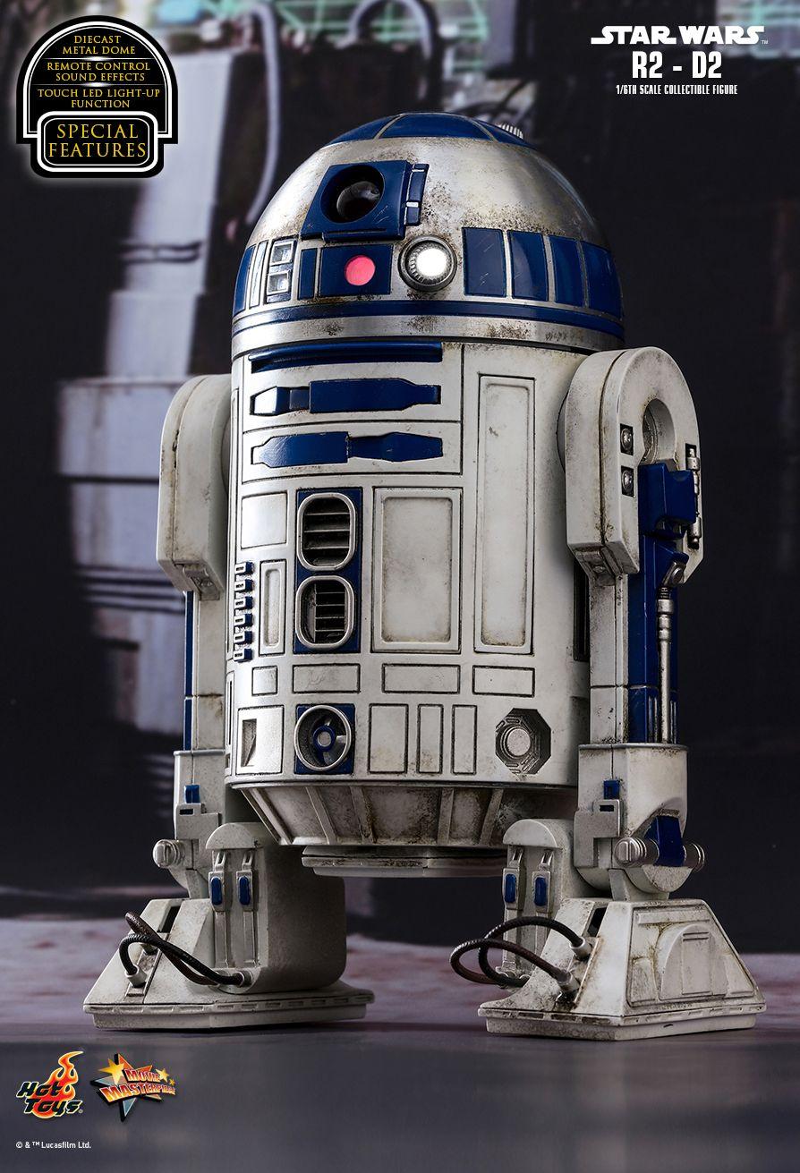 EP VII : LE REVEIL DE LA FORCE -  R2-D2 Die cast PD1485162528SYn