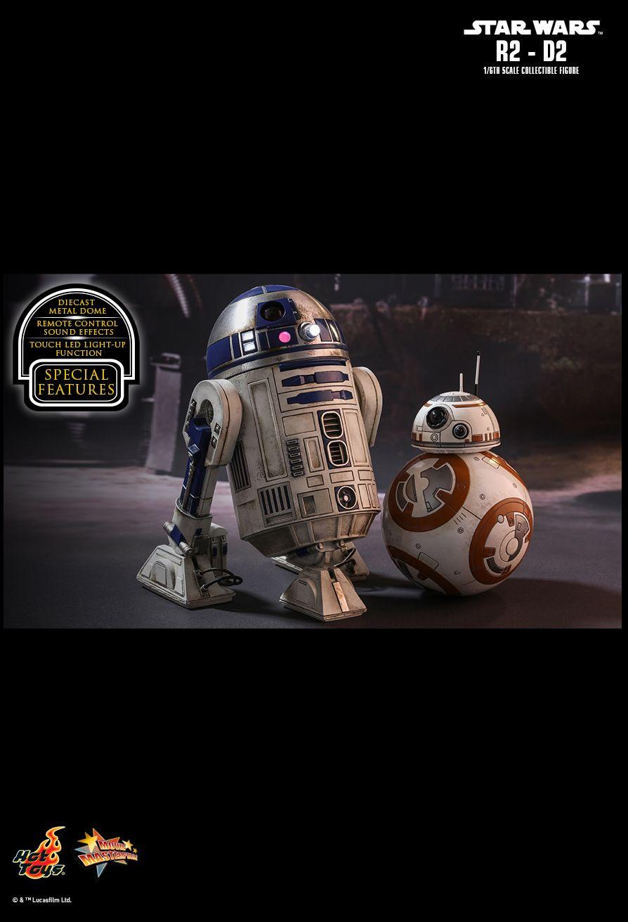 EP VII : LE REVEIL DE LA FORCE -  R2-D2 Die cast PD148516253801I