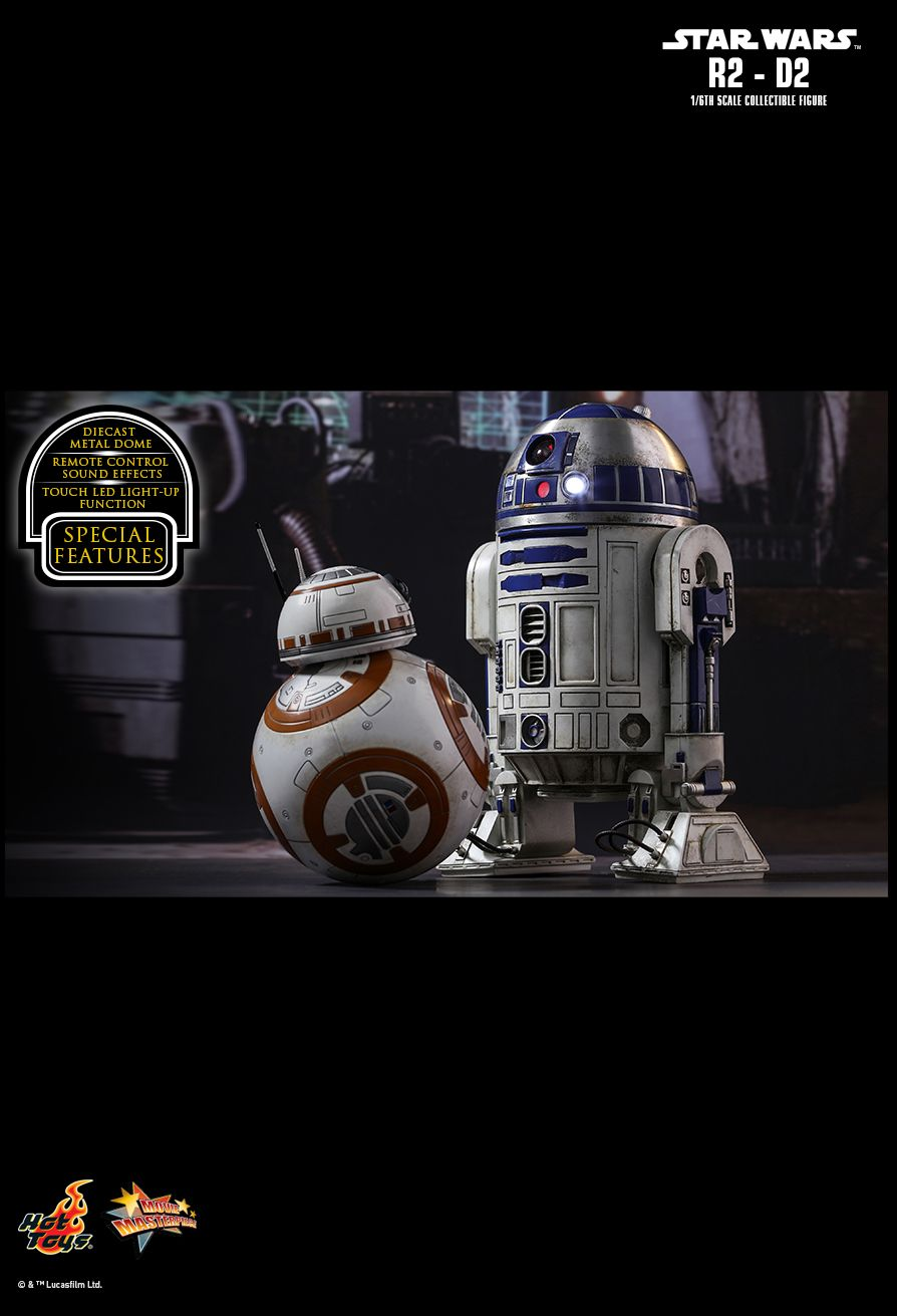EP VII : LE REVEIL DE LA FORCE -  R2-D2 Die cast PD1485162544OOU