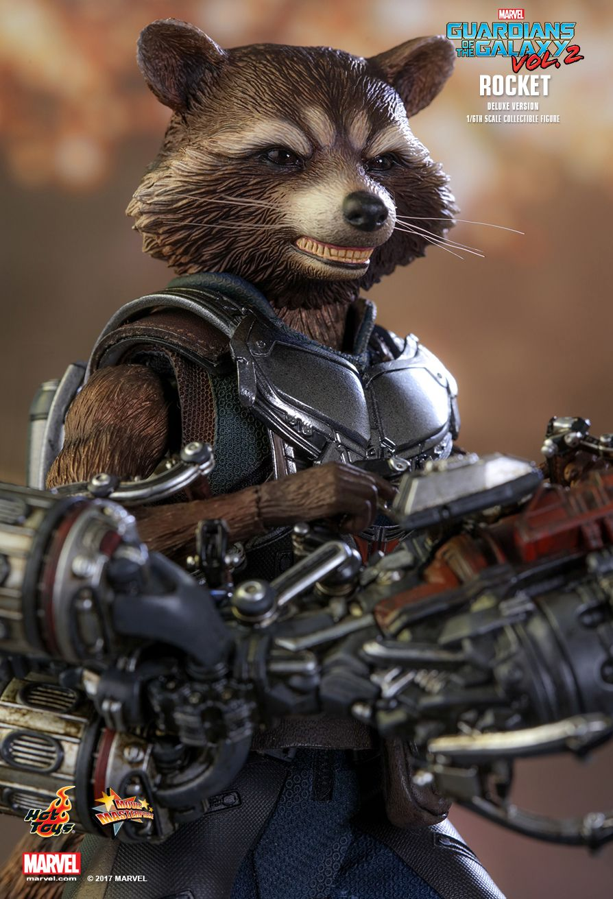 Hot Toys Guardians Of The Galaxy Vol 2 Rocket Deluxe