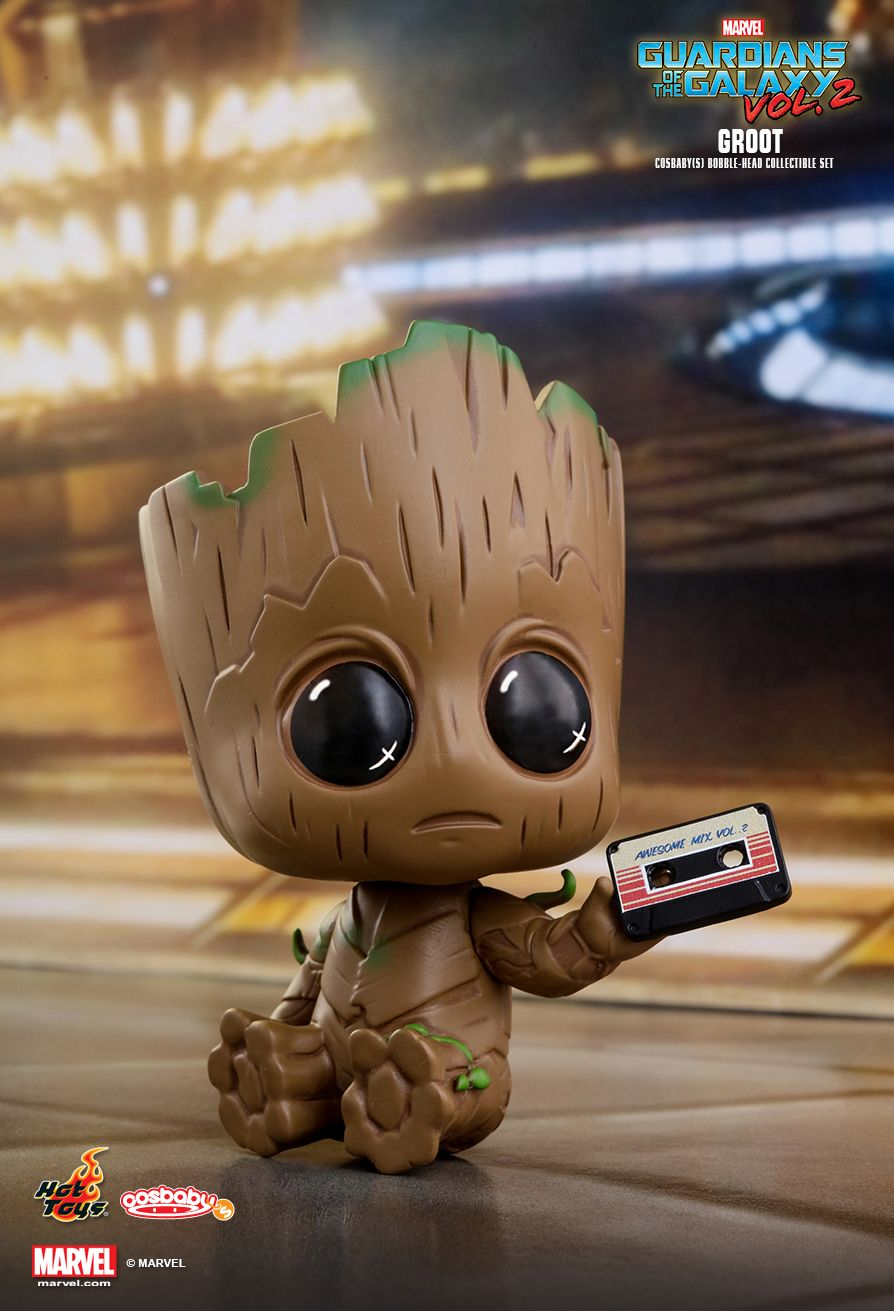 Hot Toys Guardians Of The Galaxy Vol 2 Groot Cosbaby