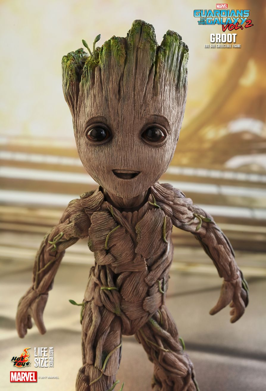 Hot Toys Guardians Galaxy Vol Groot Life